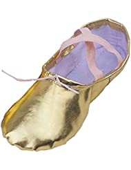 Lisianthus002 - Zapatillas de danza de poliuretano para niña