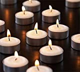 #6: SRL Set of  50 Smokeless Tealight Candles Burning Time Approx 3 Hour ( Made of Pure Paraffin Wax )