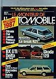 MONITEUR AUTOMOBILE (LE) [No 850] du 26/06/1986 - MILLESIME 1987 - CITROEN - FIAT - LANCIA - PEUGOET - RENAULT - BX GTI - DELTA HF 4WD - FORD SCORPIO GL DIESEL - MERCEDES 230 TE - NEVADA LE BREAK R21 - SKODA 120 - CITROEN BX GTI - LANCIA DELTA HF 4WD - MERCEDES 230 E.