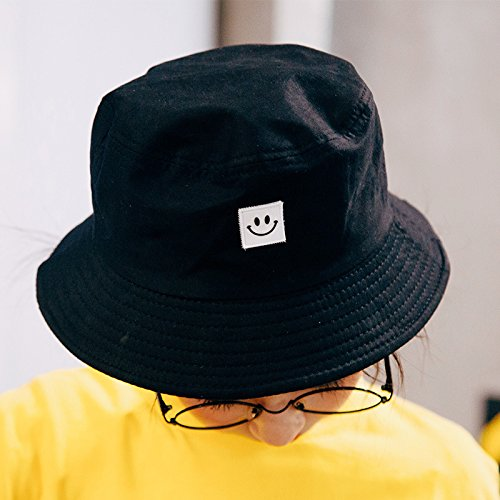 Imagen de byou sombrero pescador,sombrero de pescador tela de algodón y poliéster unisex aire libre sombrero de ala ancha borde redondo para excursionismo cámping de viaje pescar 56 58cm alternativa