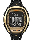 Timex TW5M05900 Ironman Sleek Black Resin Strap Unisex Watch