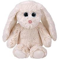 TY 67015Pearl, conejo, Attic Treasures, color blanco, 33cm