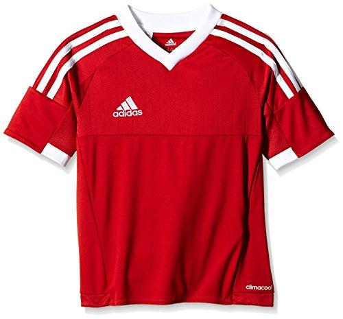adidas Kinder Trikot Tiro 15 Fußballtrikot, Power Red/White, 152 - Adidas Tiro Training Jersey