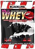 BlackLine 2.0 Milfy Whey + 12,5% Isolate Premium Protein Eiweiß Proteinshakes Eiweißshakes 1000g (Heiße Milf mit Honig - heiße Milch mit Honig )