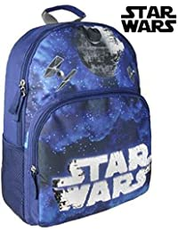 Preisvergleich für Cerdá Star Wars Kinder-Rucksack, 40 cm, Blau (Azul)