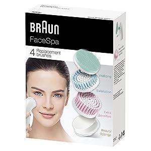 514yOuBujDL. SS300  - Braun-80-MV-Set-de-4-recambios-de-cepillo-facial-de-limpieza-para-depiladora-facial