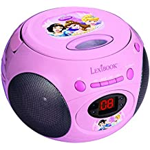 Princesas Disney - Reproductor de CD , color rosa (Lexibook RCD102DP)