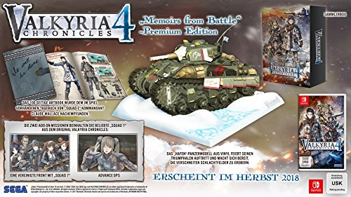 Valkyria Chronicles 4 – Memoires from Battle – Premium Edition (Switch)