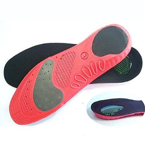 HealthPanion 1 Paio di Soletta perfetta e confortevole per scarpe per l'attività fisica