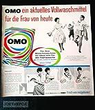 1960 : Anzeige: OMO VOLLWASCHMITTEL - Format: ca. 230 x 240 mm - alte Werbung /Originalwerbung/ Printwerbung /Anzeigenwerbung