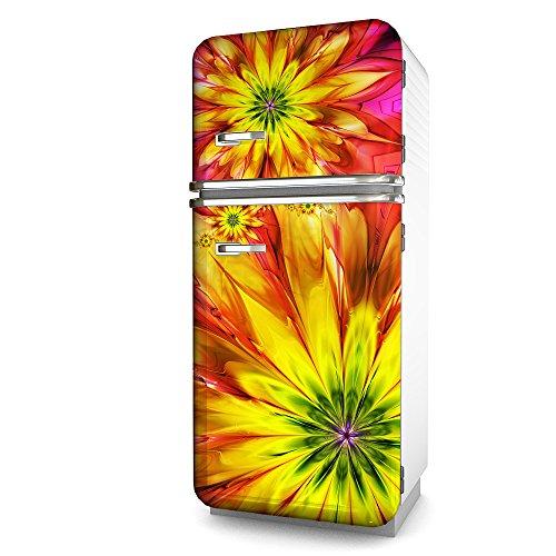 Kühlschrank-Folie Blumia selbstklebend mehrere größen | Sticker-folie | Klebefolie | Kühlschrank-Aufkleber | Front-folie | Dekoration | Küche | Deko-folie | Möbel-folie | Vinyl-folie