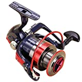 LanLan Fishing Spinning Reel Metal Rocker Arm Smooth High Hardness Gear Spinning Wheel Gear Fishing Reel