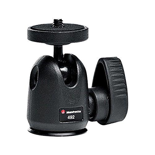 Ball Manfrotto (Manfrotto 492 Kugelkopf Micro (140g, bis max. 2 kg Tragekraft))