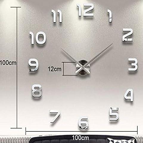 feius grandes relojes de pared decorativos diseo moderno saln vintage reloj de pared decoracion rstica moda