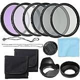 Docooler Fotocamera Professionale UV CPL FLD Filtri per Lenti Kit...