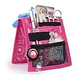 Mobiclinic Organizador Auxiliar de enfermería | Keen's Bata o Pijama | Diseño Exclusivo con Estampados en Color Rosa | Amo la enfermería