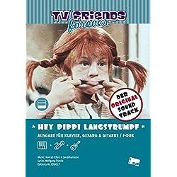 "Hey, Pippi Langstrumpf: Title song of Pippi Longstocking movies ""Pippi in Taka-Tuka-Land"", ""Pippi außer Rand und Band"" and TV series ""Pippi Longstocking"" (1971)"