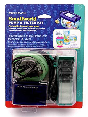 Small World Penn Plax Filter Einheit und Ersatz Kartusche -