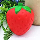 #10: BRIDA® Slow Rising Squishy Toys Fidget Toys Cute Squishies Squeeze Stress Reliever for Girls / Kids / Adults (Strawberry)