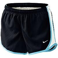 Nike Girl's Tempo Shorts - Pantalones Cortos para Niñas, color Negro, talla X-Small