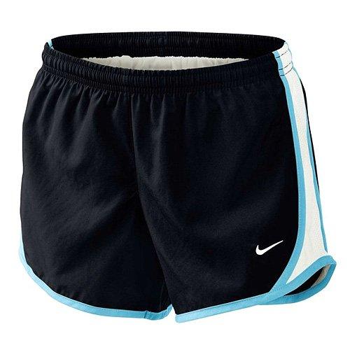 Nike, Mädchen Oberbekleidung Tempo Shorts, Schwarz (Blau), L, 455912-040 (Nike Mesh-jugend)