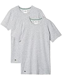 Lacoste Herren T-Shirts Colours Crew-Neck Business Shirts 148321 2er Pack