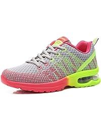 ausom cojín de Aire de Entrenamiento de Fitness para Mujer Trail Zapatillas de Running Fashion Sport