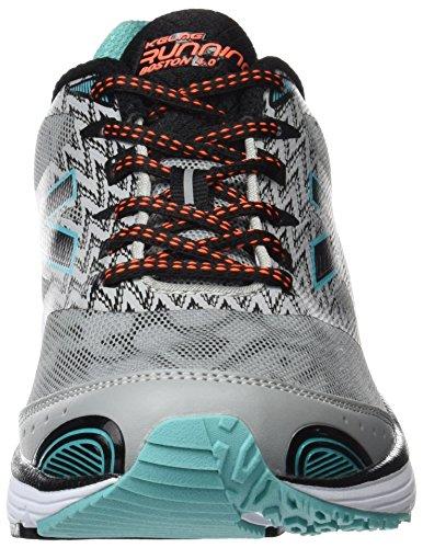 Kelme Boston Kush 4.0, Chaussures homme Argenté (Noir / Argent)