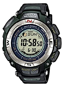 CASIO Sport Pro Trek PRW-1500-1VER - Reloj unisex de cuarzo, correa de resina color negro