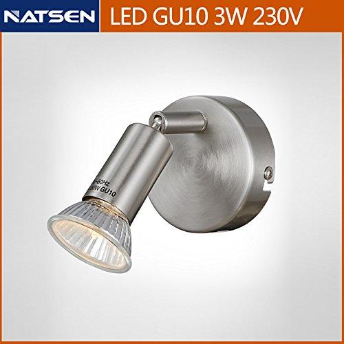 LED-Deckenstrahler Austauschbare LED-Leuchtmittel