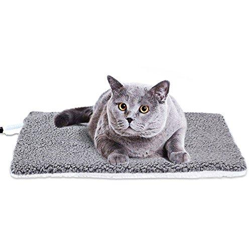 cangfort Innen Pet Bettwärmer elektrisch beheizt Erwärmung Pad mit Kauen beständig Kordel abnehmbarer Bezug - Pad Pet-erwärmung