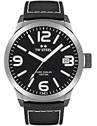 TW Steel Marc Coblen Edition mit Lederband 50 MM Black/Black TWMC54