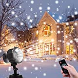 LED Schneefall Projektor Lichter Weihnachten Schneeflocke Projektor Lampe Für Halloween Party Hochzeit Garten Dekorationen
