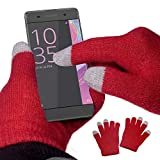 yayago Touchscreen Handschuhe Universalgröße (ca. S – M) – für Sony Xperia XA / Sony Xperia XA Dual