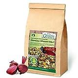 Original-Leckerlies: Gemüse-Wiesen-Mix I 500g, ***Premium Qualität*** Kaninchenfutter, Nagerfutter, Meerschweinchenfutter, Naturprodukt für Nager mit Gemüse und Kräutern