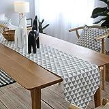LGZOOT Luxus Tischläufer Tischdecken (mit 4 Tischsets) Multi-Size-Tischdecken Für Restaurant-Küche Hochzeitsfeiern Bankett-Events,L