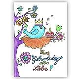 Geburtstagskarte für Jungen und Mädchen, Babys 1. Geburtstag Geburtstagskarte Baby 1 Jahr