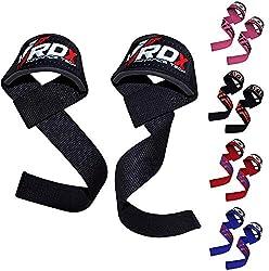 RDX Fitness und Bodybuilding Zughilfen, Schwarz, One Size