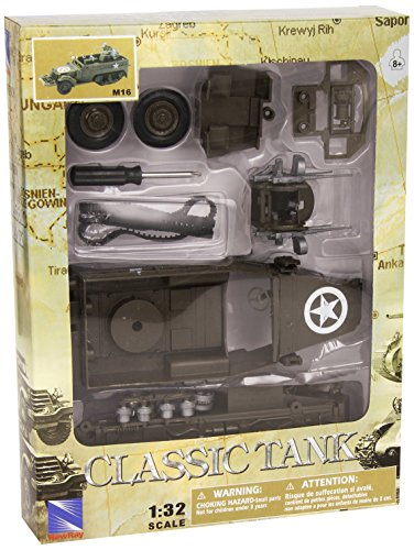 AK SPORT Assorted Newray Tank Model Kit 4