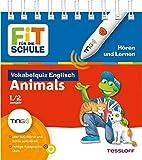 Vokabelquiz Englisch - Animals (Tiere): Über 500 Wörter und Sätze zum Hören, richtige Aussprache üben (Antippen, Spielen, Lernen!)