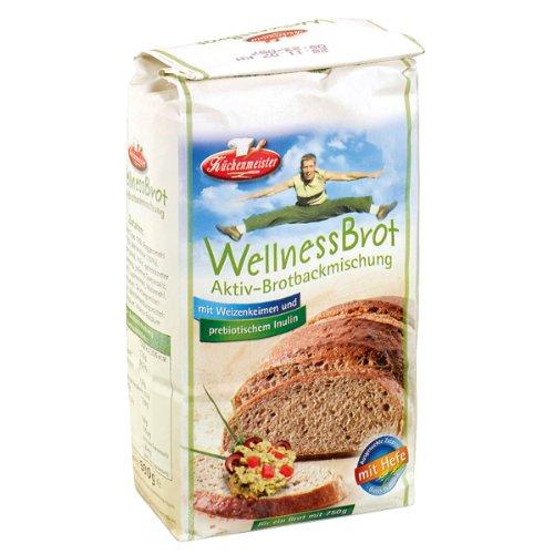 Preisvergleich Produktbild Bielmeier - Küchenmeister Brotbackmischung Aktiv: Wellnessbrot 15er Pack (15 x 500 g)