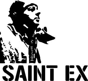 Sticker Stencil Saint Exupery - 62x57 cm
