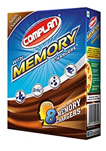 Complan with Memory Chargers Refill, 200g (Badam Chocolate)