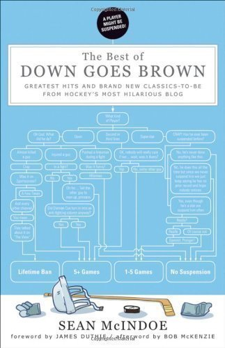 The Best of Down Goes Brown: Greatest Hits and Brand New Classics-to-Be from Hockey's Most Hilarious Blog by McIndoe, Sean, McKenzie, Bob ( 2012 )