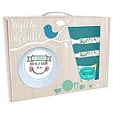 BAGGY Set Desayuno melamina Sonrisita 5pz, Color, Talla (Fabricante AST0457)