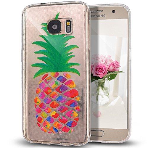 Galaxy-S7-Edge-HlleGalaxy-S7-Edge-Caseikasus-Galaxy-S7-Edge-Silikon-Hlle-Kristallklar-DurchsichtigKunst-Malerei-Muster-Stodmpfend-Transparent-TPU-Silikon-Schutz-Handy-Hlle-Case-Tasche-Silikon-Crystal-