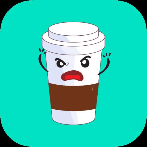 Coffee Time Good Morning Emoji Fun Lil Stickers