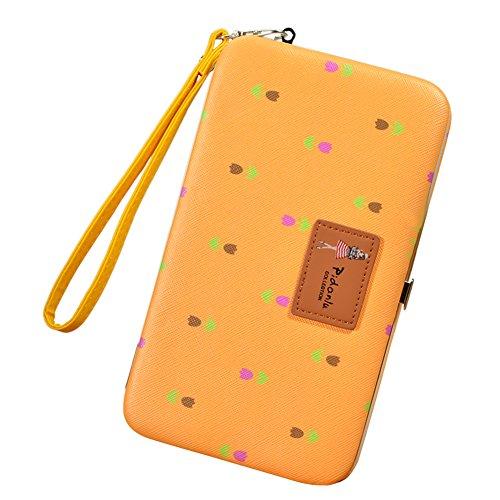 Portafogli da Donna Borsa con Corona Diamante Bling, Sunroyal Multifunzionale [Grande capacità] Smartphone Wristlet Custodia Case Cover per Huawei Mate 9 / P10 / P10 Lite / P10 Plus / P9 / P9 Lite / P Modello 02