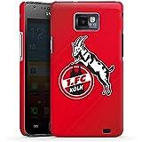 Samsung Galaxy S2 Hülle Premium Case Schutz Cover 1. FC Köln Fanartikel Fußball