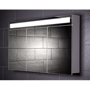 Galdem START120 Spiegelschrank, holz, 120 x 70 x 15 cm, weiß ... | {Spiegelschrank holz weiß 40}